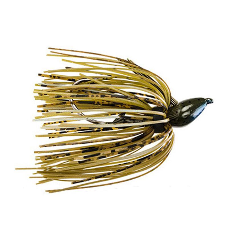 Strike King Lures Denny Brauer Structure Jig 0.25 oz 2/0 Hook Blue Craw