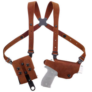 Galco Classic Lite 2.0 Shoulder SIG Sauer P365 Holster Right Hand Leather Natural