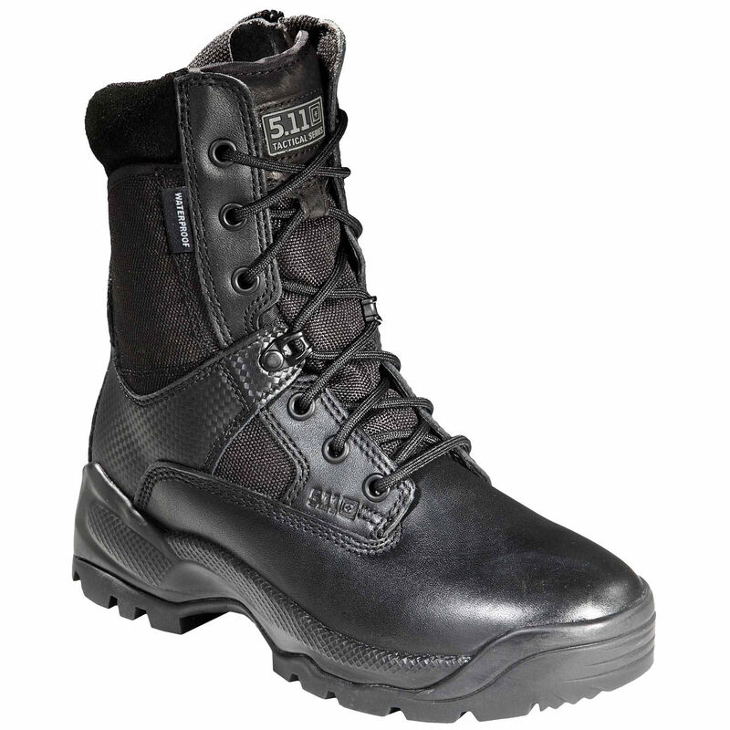 "5.11 Tactical Women's A.T.A.C. 8"" Storm Boots Size 10 Black"
