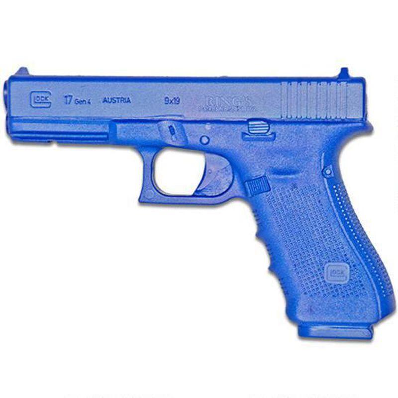 Rings Manufacturing BLUEGUNS GLOCK 17 Generation 4 Handgun Replica Weighted Training Aid Blue FSG17G4W