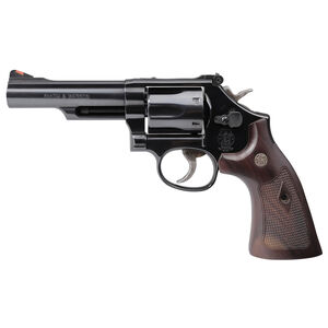 "S&W Model 19 Classic .357 Magnum Double Action Revolver 4.25"" Barrel 6 Rounds Walnut Grips High Polished Blued Finish"