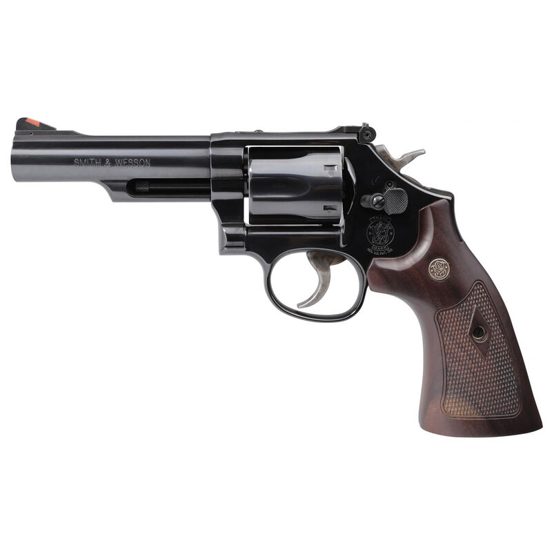 """S&W Model 19 Classic .357 Magnum Double Action Revolver 4.25"""" Barrel 6 Rounds Walnut Grips High Polished Blued Finish"""