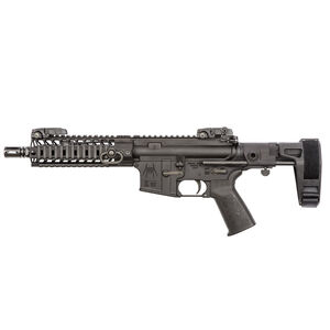 "Spikes Tactical AR-15 Semi Auto Pistol 5.56 NATO 8.1"" Barrel 9"" M-LOK Free Float Rail Pistol Length Gas System Maxim Pistol Brace Barking Spider Muzzle Device Matte Black"