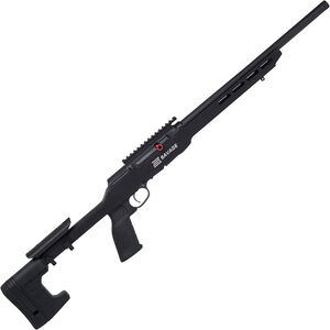 "Savage A22 Precision .22 LR Semi Automatic Rimfire Rifle 18"" Heavy Threaded Barrel 10 Rounds with Picatinny Rail Aluminum  MDT Chassis Black Finish"