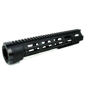 """TacFire DPMS LR-308 Low Profile Free Float Handguard Detachable Rails 12"""" Aluminum Black HG03-308-12"""