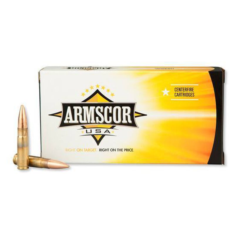 Armscor USA .300 Blackout Ammunition 20 Rounds Subsonic Sierra BTHP 220 Grains F AC 300AAC-3N