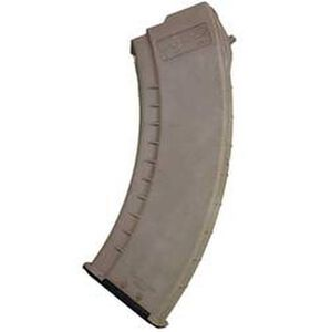 TAPCO AK-47 Slab Magazine 7.62x39mm 30 Rounds Nylon FDE 16653
