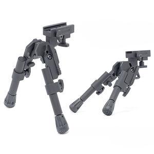"GG&G Tactical XDS-2 Compact Bipod 6 5/8 - 8 1/4"" Rail Mount Black GGG-1721"