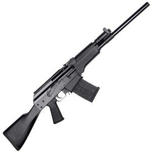 "JTS Group M12AK 12 Gauge Semi Automatic Shotgun 18.7"" Barrel 3' Chamber 5 Round Magazine Polymer Furniture Matte Black"