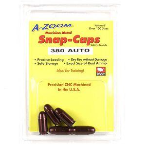A-Zoom .380 ACP Snap Cap Aluminum 5-Pack