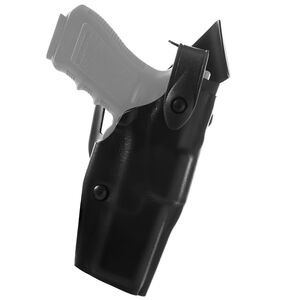 Safariland Model 6360 GLOCK 20, 21 ALS/SLS Mid Ride Level III Retention Duty Holster Right Hand STX Basketweave Black 6360-383-481