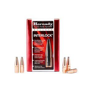 "Hornady 45 Caliber .452"" Bullets 50 Count Interlock 245 Grain 45204"