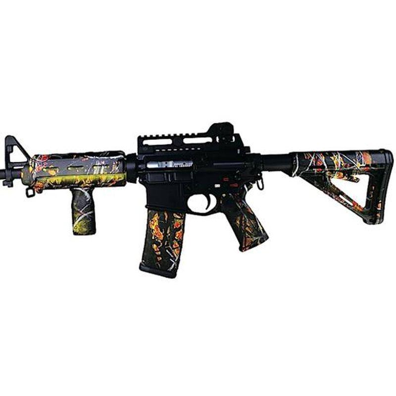 Matrix Diversified Industry AR-15 Magpul Furniture Kit Mil-Spec Polymer Wildfire Camo Finish MAGMIL42WF