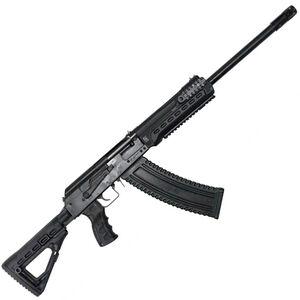 "Kalashnikov USA KS-12T Tactical Semi Automatic Shotgun 12 Gauge 3"" Chamber 18.25"" Barrel 10 Round Magazine Fixed Sights Polymer Furniture Matte Black"