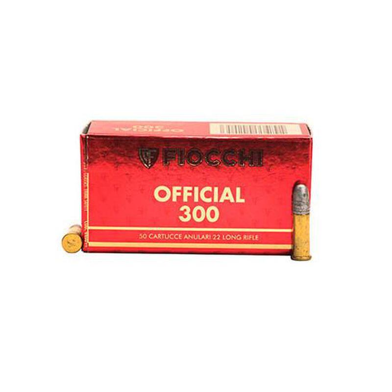 Fiocchi Exacta Super Match Rifle .22LR Ammunition 40 Grain 1050 fps