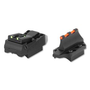 Williams Fire Sights Vent Rib Shotgun Slugger Sight Set Aluminum Black 70230