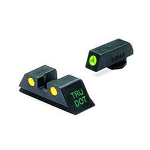 Meprolight Tru-Dot Fixed Night Sights GLOCK 20/21/29/30 Green/Yellow Steel 10222Y