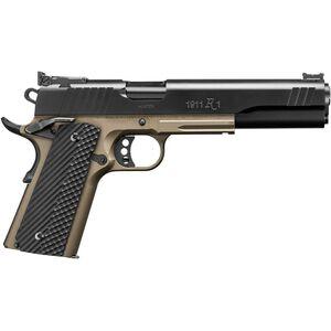 "Remington 1911 R1 Hunter 10mm Auto Semi Auto Pistol 6"" Barrel 8 Rounds Long Slide G10 Grips Black/FDE"