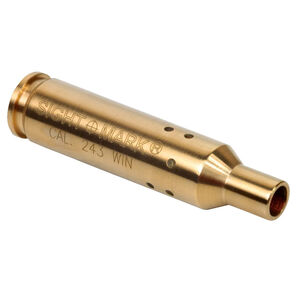 Sightmark .243 Winchester / .308 Winchester / 7.62x51 NATO Red Laser Bore Sight Brass