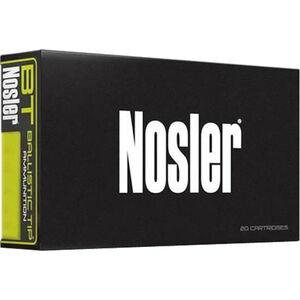 Nosler Ballistic Tip .280 Ackley Ammunition 20 Rounds 140 Grain Nosler BT Bullet 2825fps
