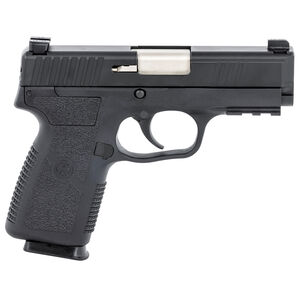 "Kahr Arms P9-2 9mm Luger Semi Auto Handgun 3.6"" Barrel 7 Rounds TruGlo Night Sights Black Stainless Steel Slide Polymer Frame Black Finish"