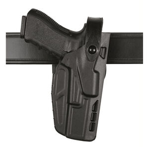 Safariland Model 7280 7TS SLS Mid-Ride Duty Belt Holster Right Hand Fits SIG Compact P250/P320 SafariSeven Black