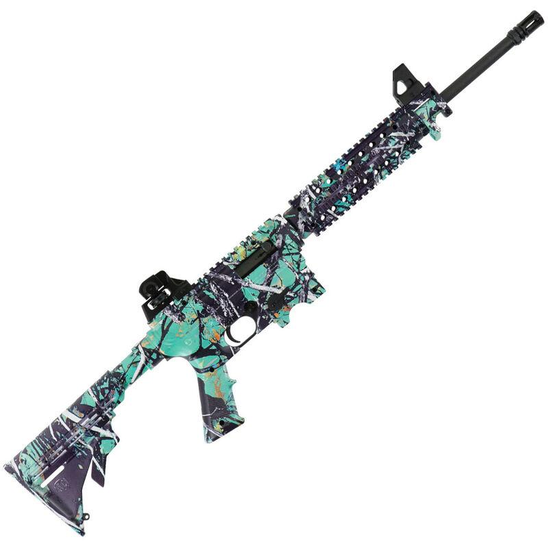 Mossberg 715T AR Style Semi Auto Rimfire Rifle  22 LR 16 25