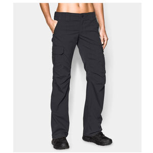 Under Armour Performance UA Tactical Women's Patrol Pants Polyester Ripstop Size 10 Black 125409700110