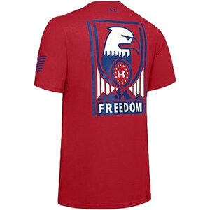 Under Armour Freedom Sentinel T-Shirt Small Red