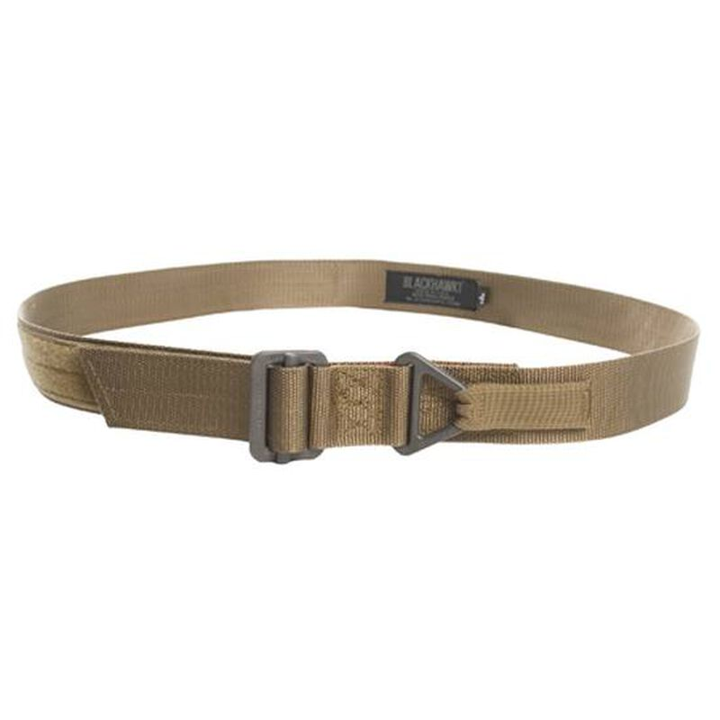 BLACKHAWK! CQB Riggers Belt Small Nylon Coyote Tan 41CQ00DE
