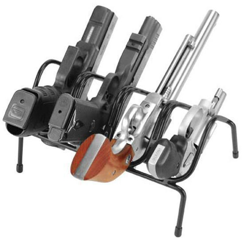 Battenfeld Technologies Lockdown 4 Handgun Rack Over-Molded Wire Construction Matte Black Finish