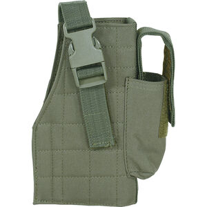 Voodoo Tactical Universal MOLLE Holster Right Hand OD