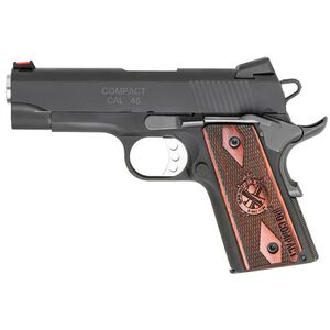 "Springfield Armory 1911 Range Officer Compact .45 ACP Semi Auto Pistol 4"" 6 Round Parkerized Black"