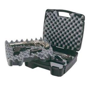 Plano SE Series Four Pistol Case Recessed Latches Molded In Handle High Density Interlocking Foam Polymer Matte Black 1010164
