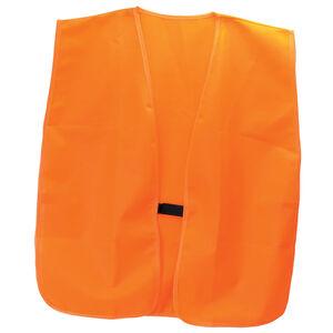 Hunting Made Easy Safety Vest Hook and Loop Closure OSFM Orange