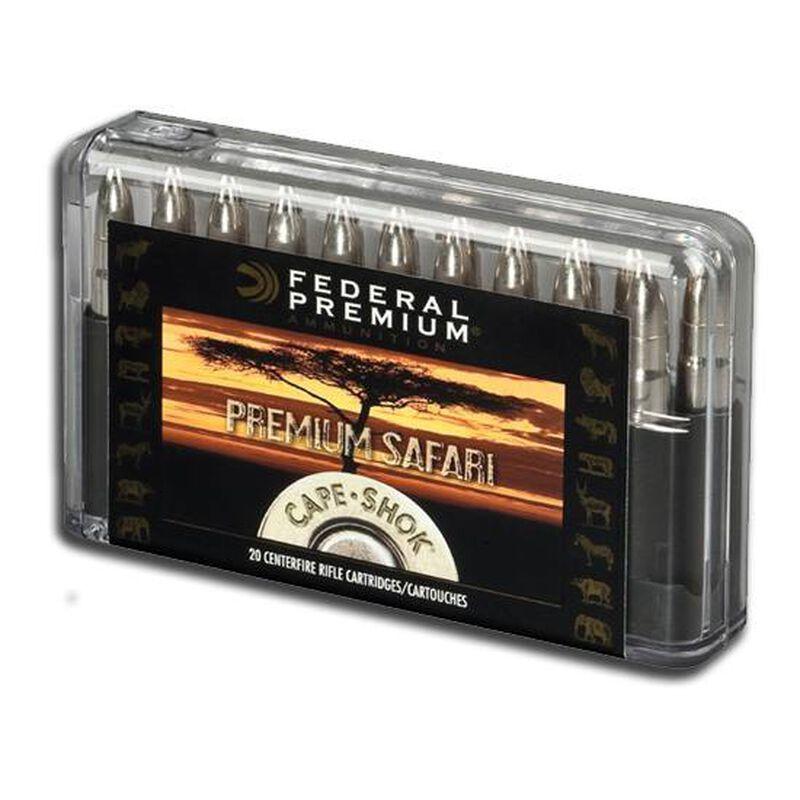 Federal .458 Lott 500 Grain Bonded Bear Claw 20 Round Box