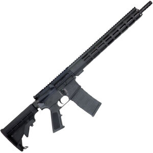 "GLFA .223 Wylde AR-15 Semi Auto Rifle 16"" Stainless Steel Barrel 30 Rounds 15"" Free Float M-LOK Handguard Collapsible Stock Black Finish"