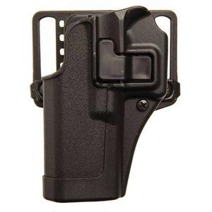 BLACKHAWK! SERPA CQC GLOCK 43 Belt/Paddle Concealment Holster Left Hand Polymer Black 410568BK-L