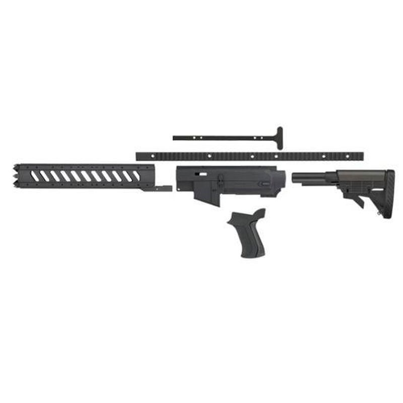 Advanced Technology Ruger 10/22 AR-22 Stock System 6-Sided Forend  Polymer/Aluminum Black