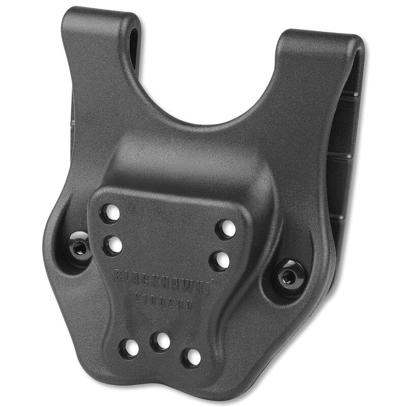 BLACKHAWK! Mid-Rise Belt Loop For Blackhawk! Duty Holsters Polymer Black 44H902BK