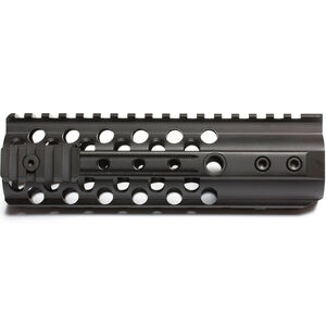 "Wilson Combat AR-15 T.R.I.M 7.3"" Carbine Length Free Float Handguard Picatinny Top Rail Aluminum Anodized Black TR-TRIM-7"