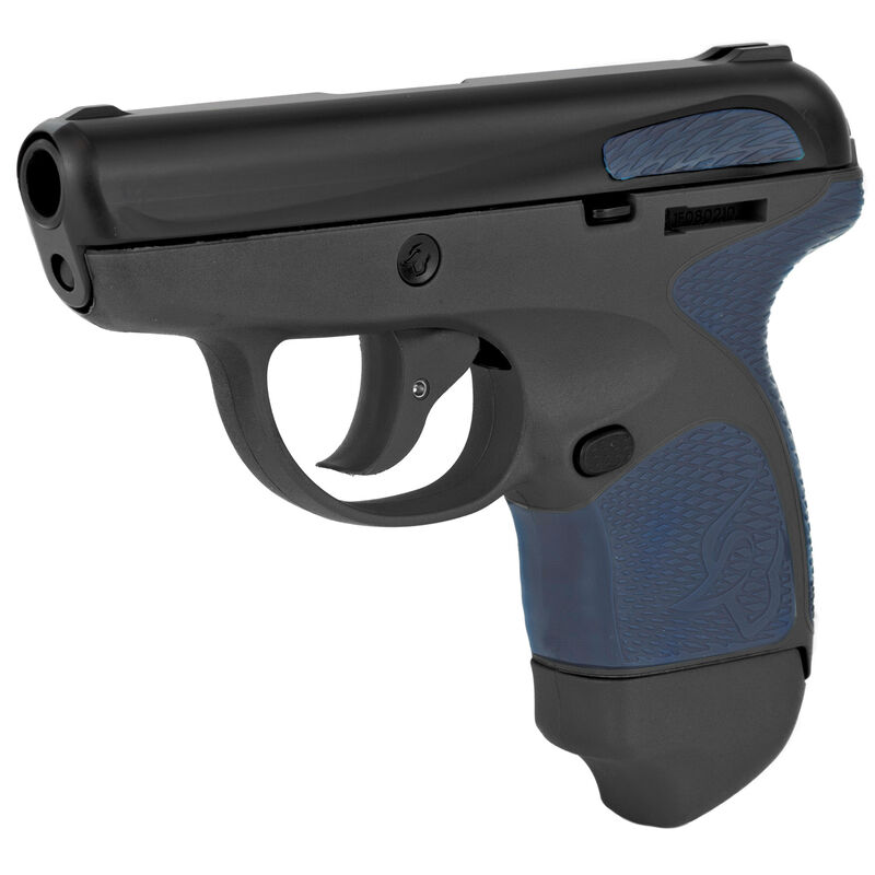 "Taurus Spectrum Semi Auto Pistol .380 ACP 2.8"" Barrel 6/7 Round Magazines Low Profile Fixed Sights Polymer Frame Dark Blue Accents/Black Slide/Grey Frame"
