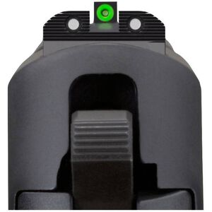SIG Sauer X-Ray 3 Day/Night Sight Set #8 Green Ring Front and #8 Black Ring Rear Tritium Three Dot Sights Square Notch Steel Black SOX10003