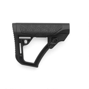 Daniel Defense Collapsible Buttstock Mil-Spec Polymer Black Finish 21-091-04179-006