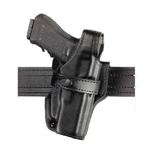 "Safariland 070 Heckler & Koch HK .45 4.25"" Barrel SSIII Level III Mid Ride Duty Holster Left Hand Leather Plain Black"