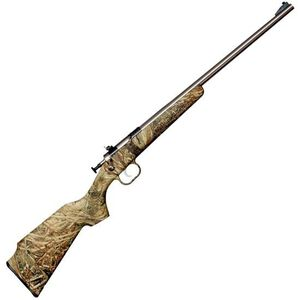 "Crickett Gen 2 Bolt Action Rifle 22 LR 16.5"" Barrel 1 Round Synthetic Stock Mossy Oak Duck Blind/Stainless Steel"