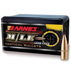 """Barnes M/LE RRLP Lead Free Copper Projectile .223/5.56 Caliber .224"""" Diameter 55 Grain Hollow Point Flat Base Projectile 100 Per Box"""