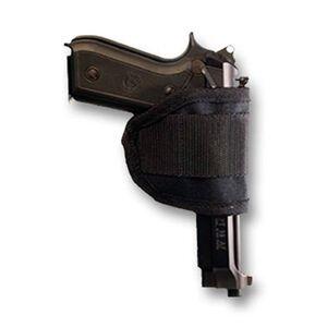 Bulldog Cases Inside the Waistband Holster Universal Medium Fit Ambidextrous Metal Clip Nylon Black WIPM