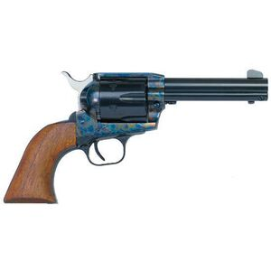 "EAA Bounty Hunter Single Action Army Revolver .45 Long Colt 4.5"" Barrel 6 Rounds Steel Frame Walnut Grips Color Case Hardened Finish 770095"