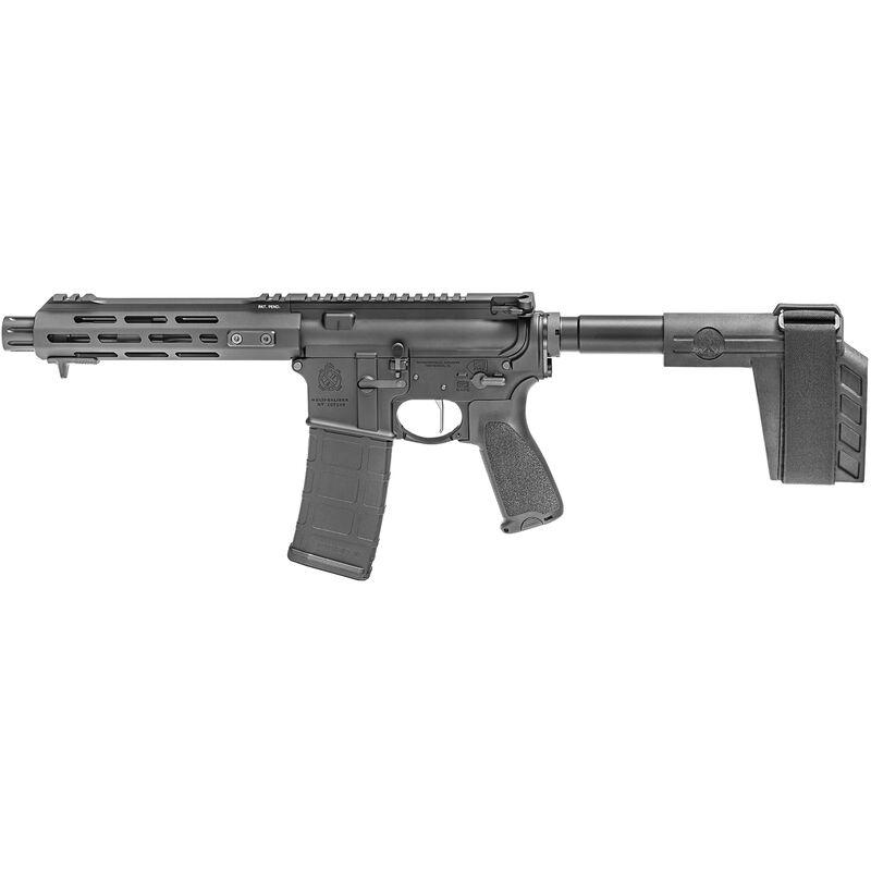 "Springfield Armory SAINT Victor 5.56 AR-15 Semi Auto Pistol 7.5"" Barrel 30 Rounds with a SB Tactical Pistol Brace Black"